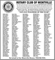 Montville Times Teacher of the Year 2021