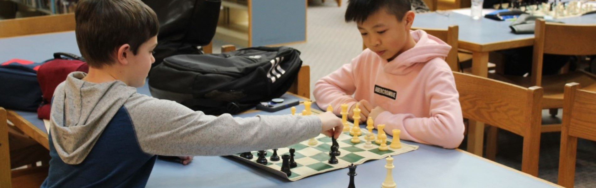Students in Chess Club